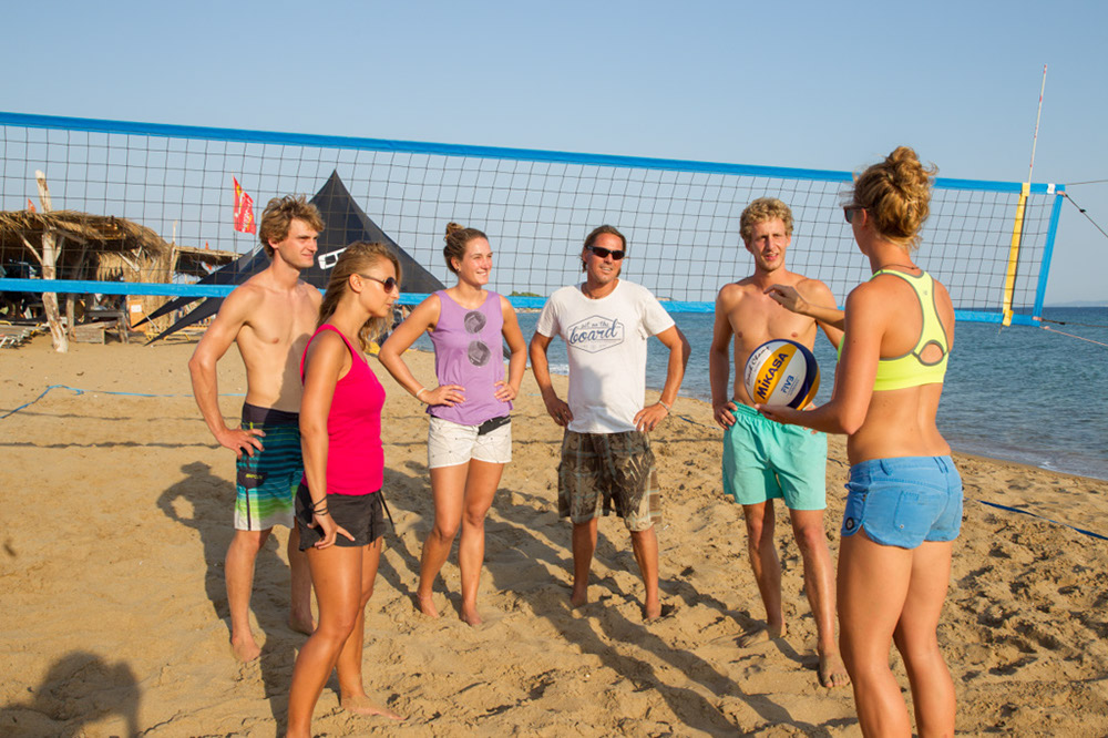 Frosch Single-Sportclub Paradise Korfu - Beachvolleyball-Camps