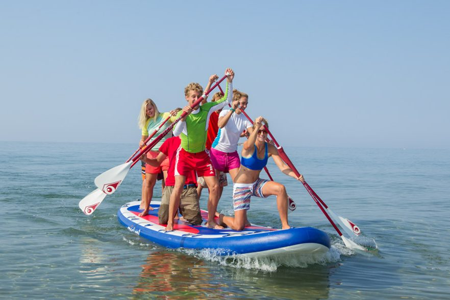 Frosch Single-Sportclub Paradise Korfu - Stand-Up Paddling