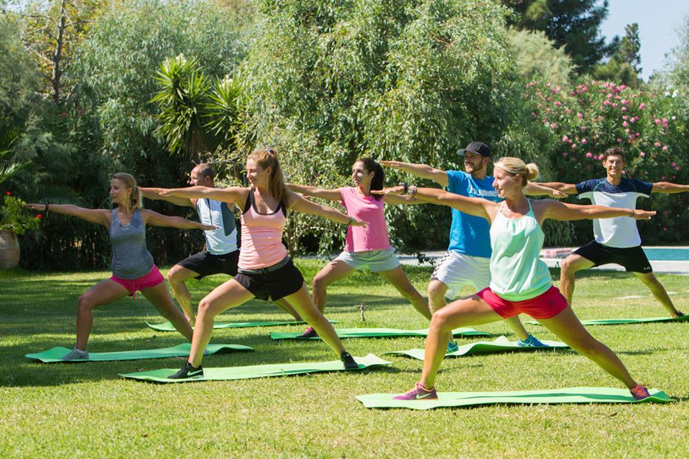 Frosch Single-Sportclub Paradise Korfu - Yoga-Wochen