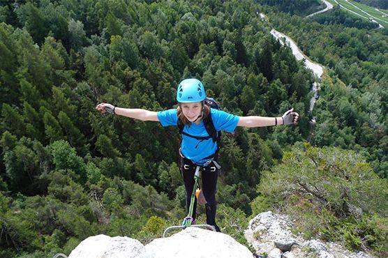 Klettersteigwochen Crans Montana, Schweiz