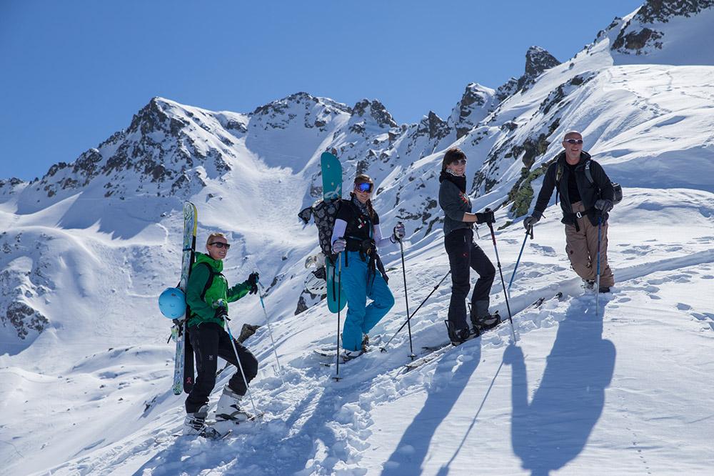 Winterferien Hochtour Schweiz