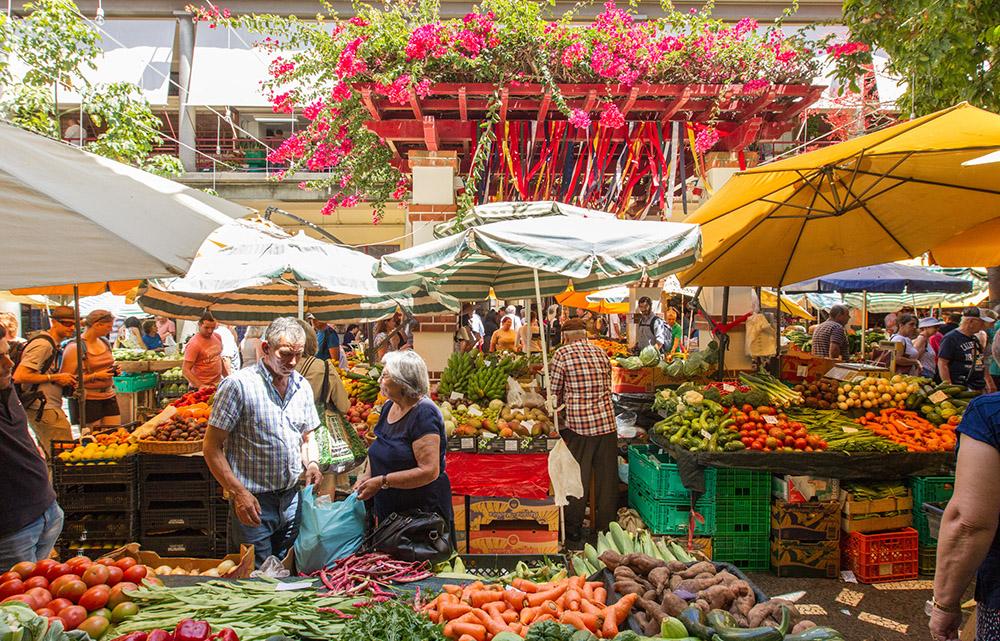Wandern Madeira Markt