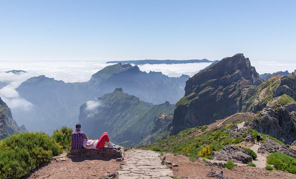 Ferien aktiv Herbst Wandern Madeira