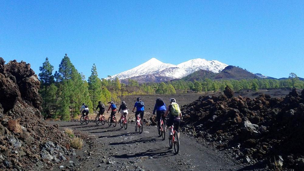 Aktivferien Herbst Mountainbike Teneriffa